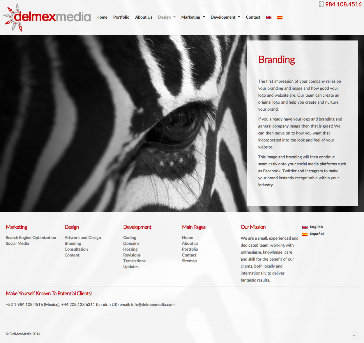 DelmexMedia - Branding