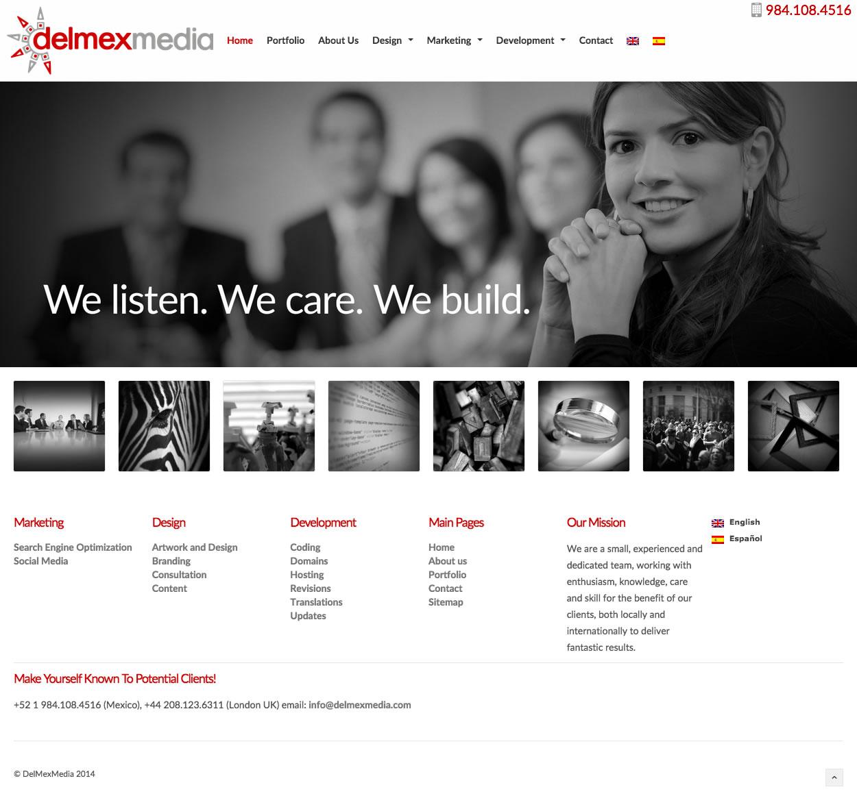 DelmexMedia -  Homepage