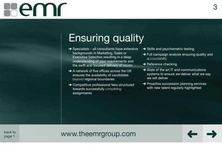 EMR - Interactive Brochure 4