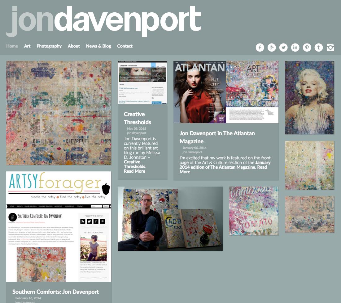 Jon Davenport Art - Home
