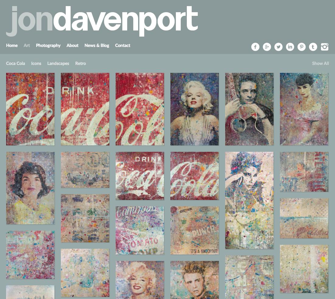 Jon Davenport Art - Painting Portfolio