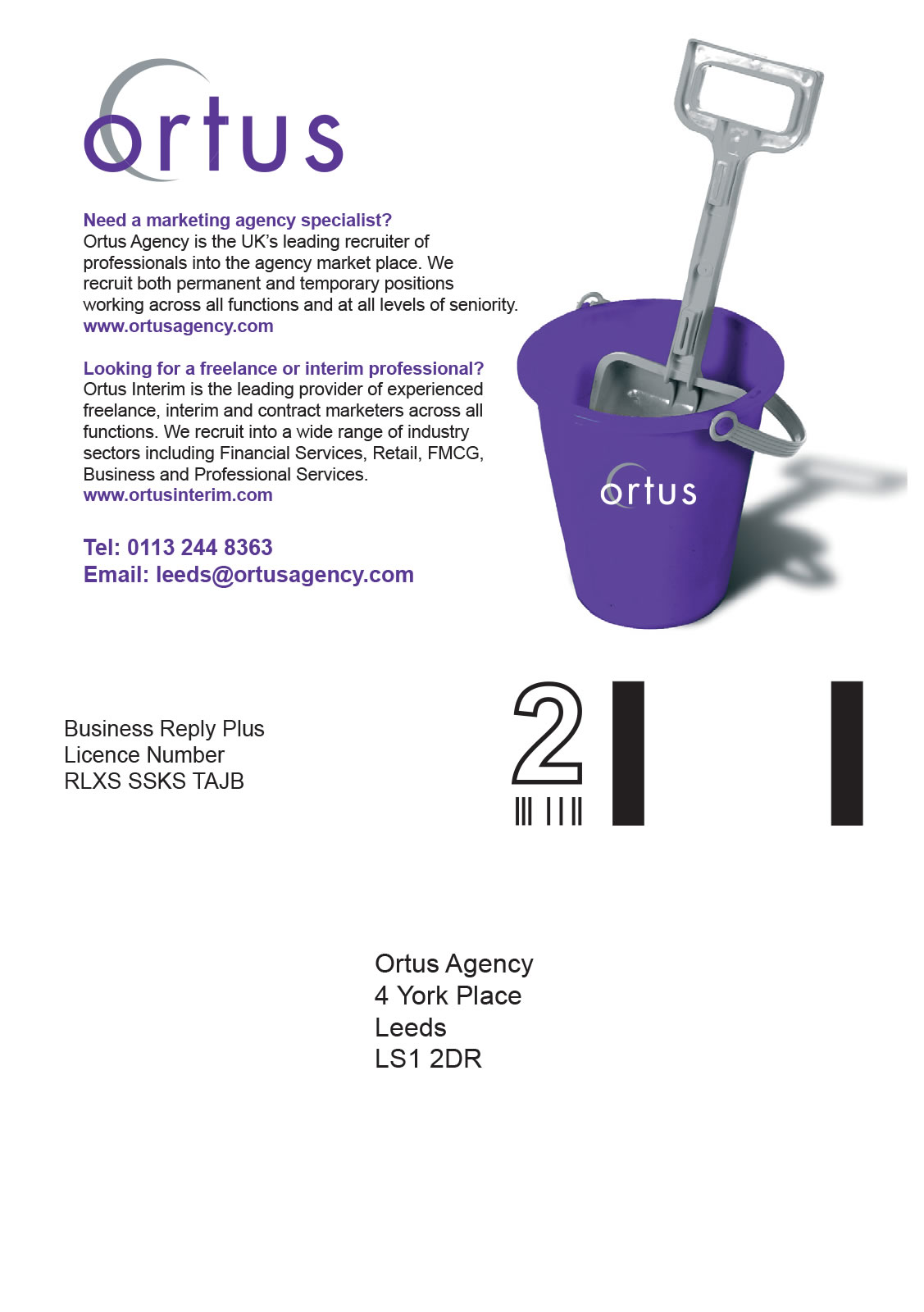 Ortus - Direct mail - Side 2