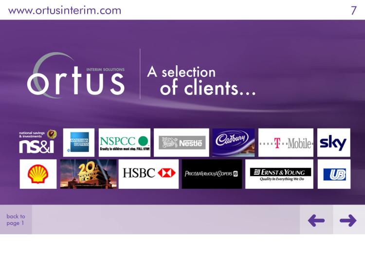 Ortus - Interactive Brochure 3
