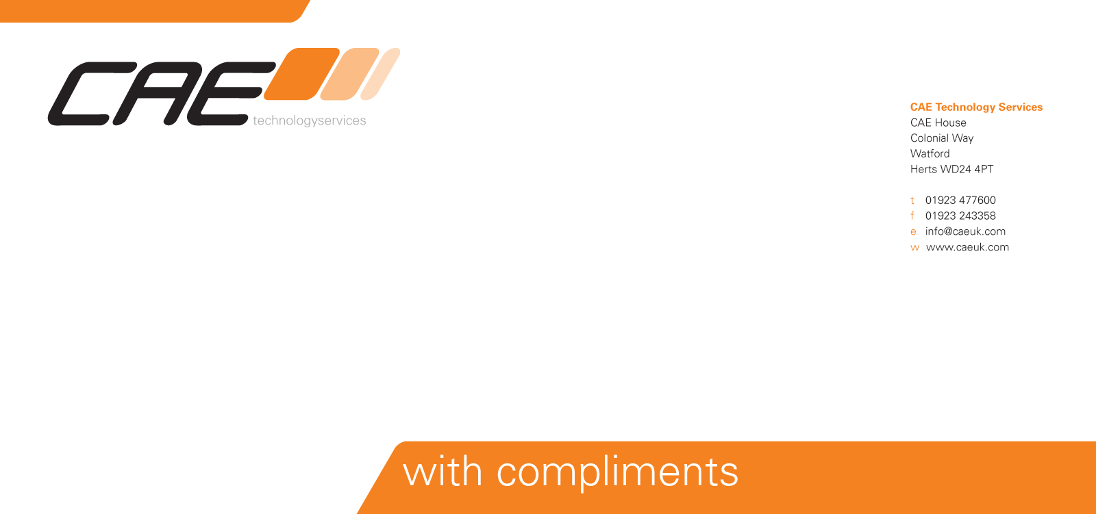 cae - compliments
