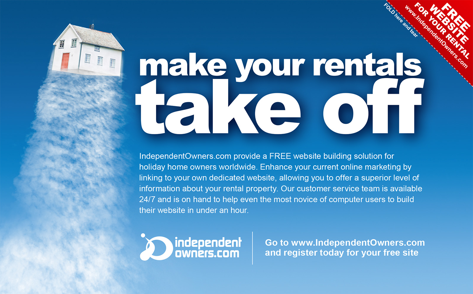 independent owners - take off ad