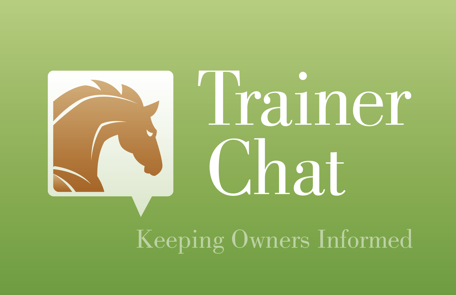 trainer chat card back