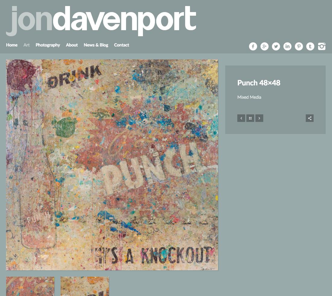 Jon Davenport Art - Painting