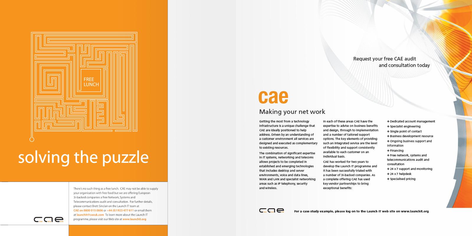 Launch IT - Brochure - CAE