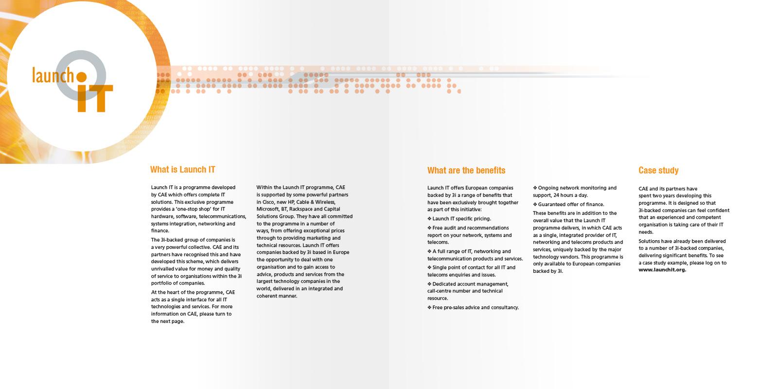 Launch IT - Brochure Intro