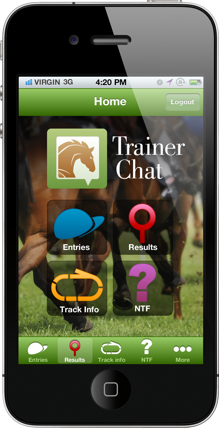 trainer chat ui